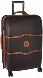 DELSEY Paris Chatelet Hard+ Hardside Medium Checked Spinner Suitcase