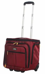 Lucas convertible under-seat carry-on luggage