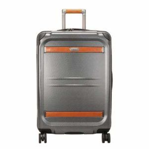 Ricardo Beverly Hills Ocean Drive 25-Inch Spinner Upright Suitcases, Silver
